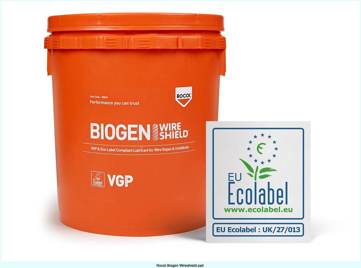 Rocol Biogen Wireshield pail