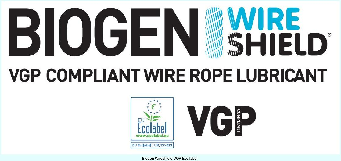 Biogen Wireshield VGP Eco label